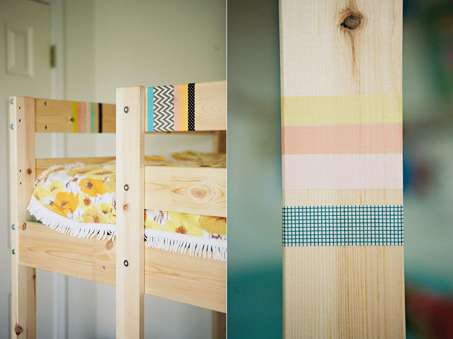 Awesome Diy {washi Tape Bed}