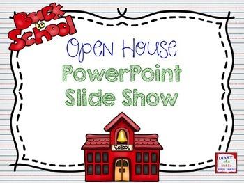 Back to school open house powerpoint slide show curriculum night back to school open house powerpoint slide show toneelgroepblik Images