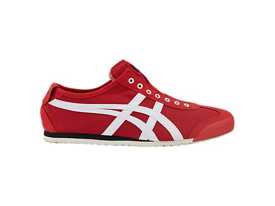 huge discount 3267f b2932 MEXICO 66 SLIP-ON MEN TRUE RED   WHITE Onitsuka Tiger Hong Kong   onitsukatiger. Find this Pin and more ...
