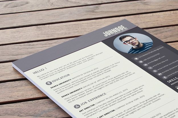 Free Rsum Templates That Will Get You Noticed  Resume Ideas