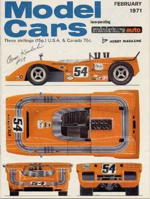 Model Cars Magazine February 1971 Hobbies Cars Car Magazine Model