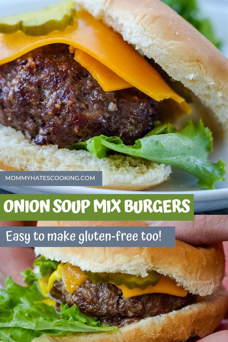 Lipton Onion Soup Mix Burgers Recipe In 2020 Onion Soup Burger Recipe Onion Soup Mix Lipton Onion Soup Mix