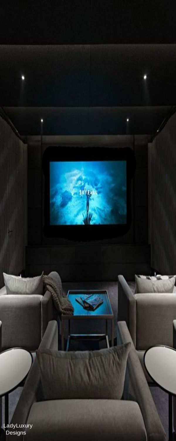 Million Dollar Interiors- Media Room