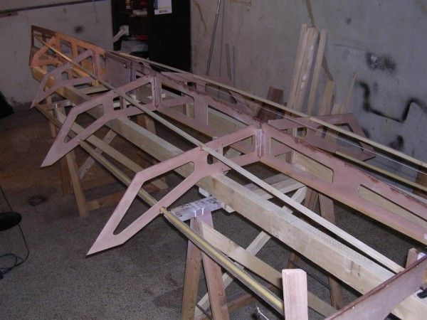PJ14 skiff: Il primo Paper Jet in costruzione in Italia