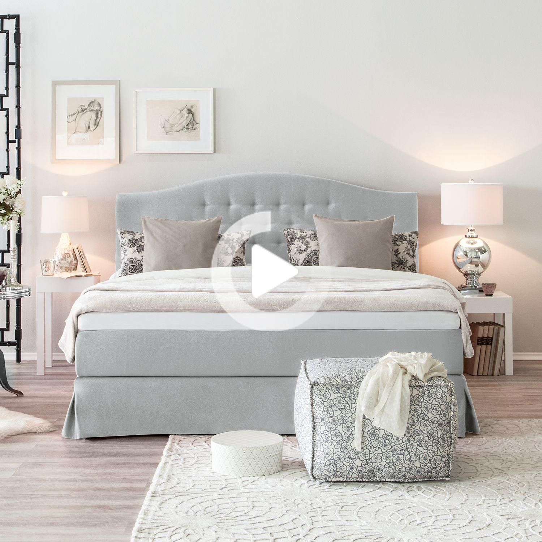 Boxspringbett La Chatre In 2020 Box Spring Bed Bed Bedding Master Bedroom