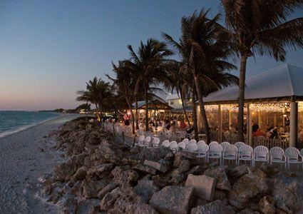 Florida Beach Weddings Siesta Key Luau Wedding Reception FL