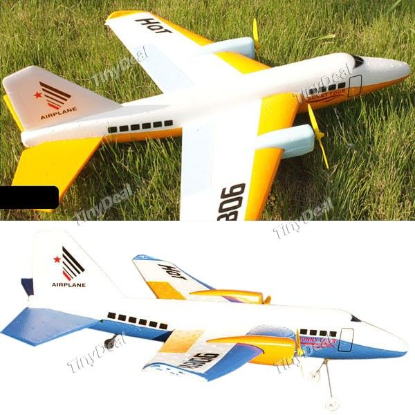 2-Channel Rechargeable RC EPP Helicopter Airplane with Infrared Remote Control FAP-81611