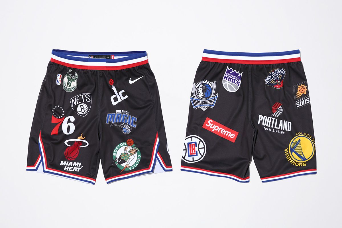 error Agregar Patria  Nike x NBA x Supreme SS18 : Release Date | WAVE® | Men fashion casual  outfits, Pullovers outfit, Supreme shoes