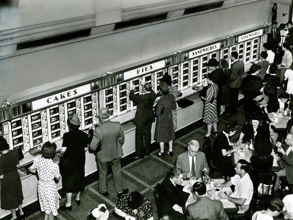 Automat - NYC - 1942