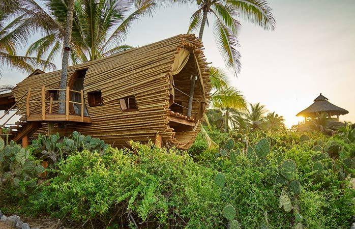 le playa viva est un lieu insolite pour dormir au mexique kevin steele pour playa viva. Black Bedroom Furniture Sets. Home Design Ideas
