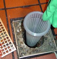 Prevent Floor Drain Clogs With This Plastic Floor Drain Strainer