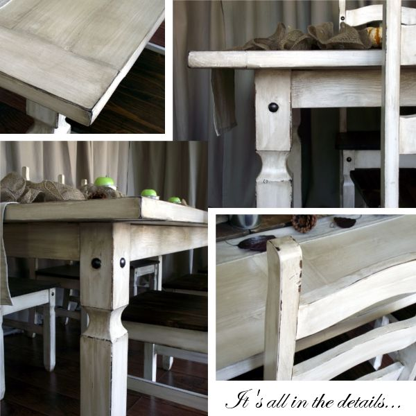 Rustic White Wash Dining Table DIY, Doing This!