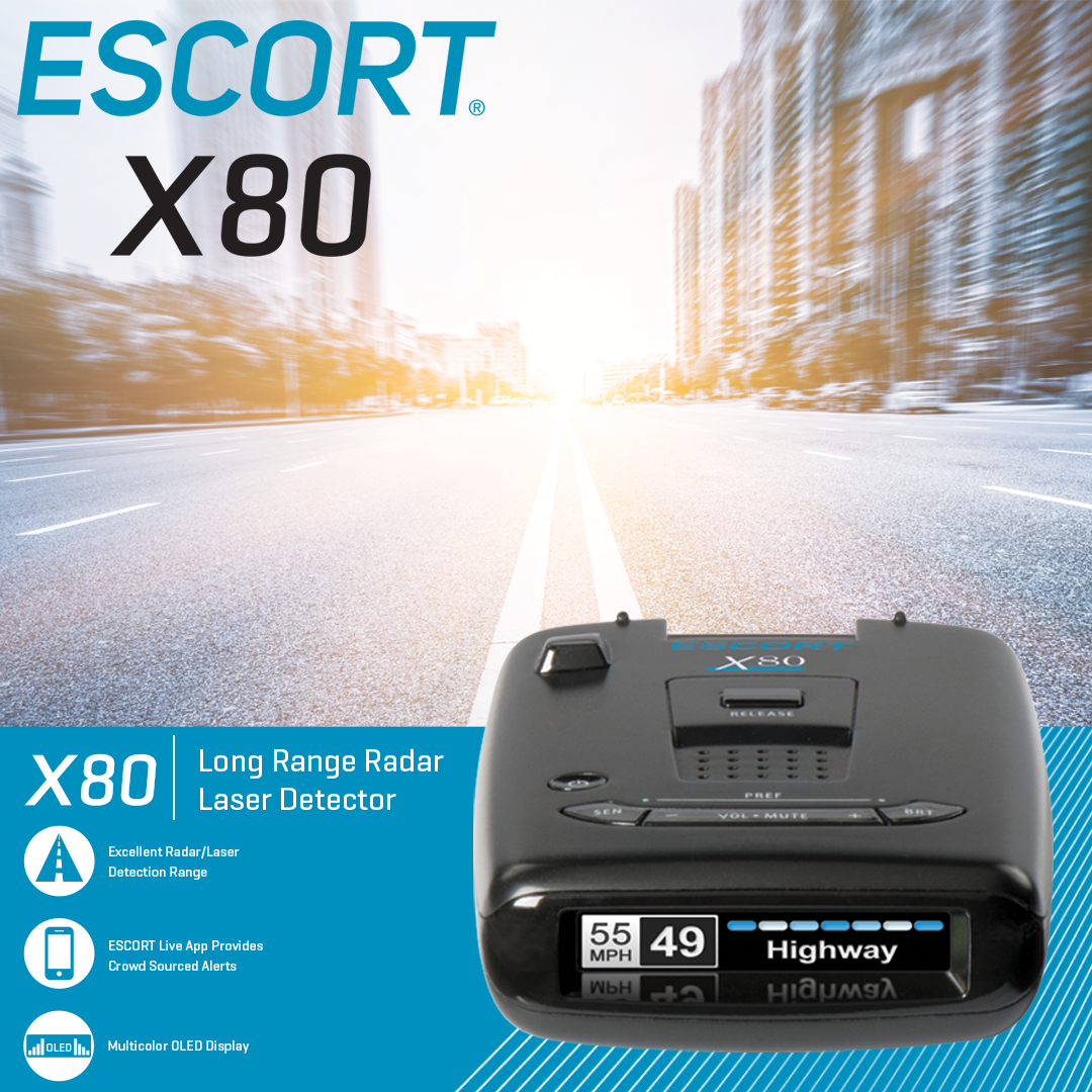 ESCORT X80 Radar/Laser Detector   Electronics   Radar