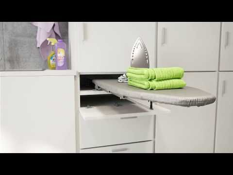 Prua Pull Out Ironing Table Box15 Youtube Pull Out Ironing Board Iron Table Ironing Board