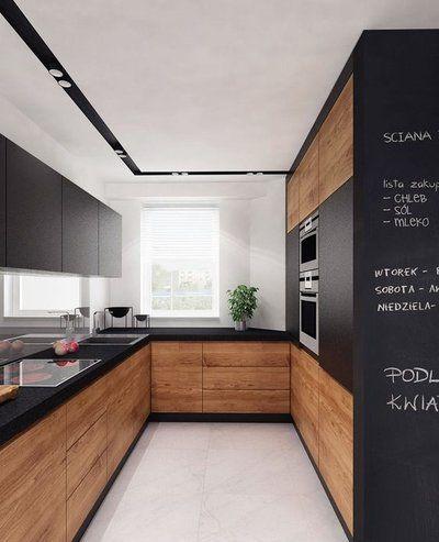 Nowoczesna Kuchnia Z Drewnem My Inspiration Kitchen W