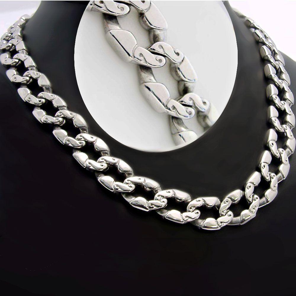 1b553a704 Masivní náhrdelník zn.EXEED v leštěném provedení, vyrobený z chirurgické  oceli. Délka: