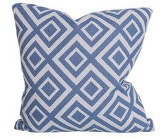 Jacquard Diamond Sky Pillow