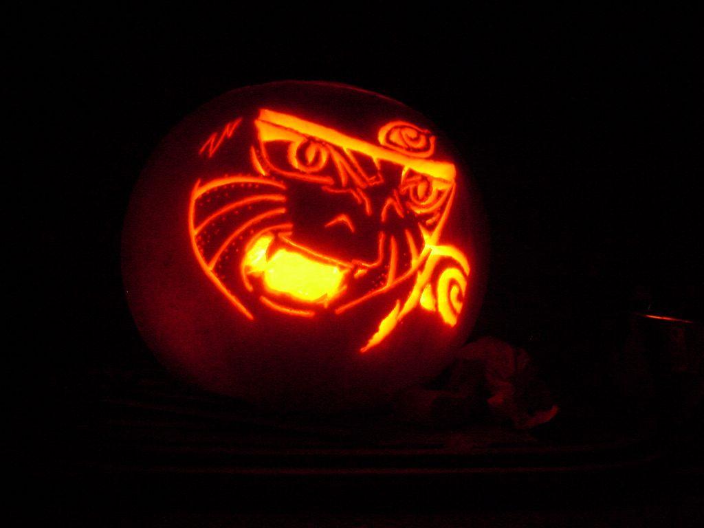 pumpkin template anime  Naruto Pumpkin Patterns | Anime Society of Kansas City in ...