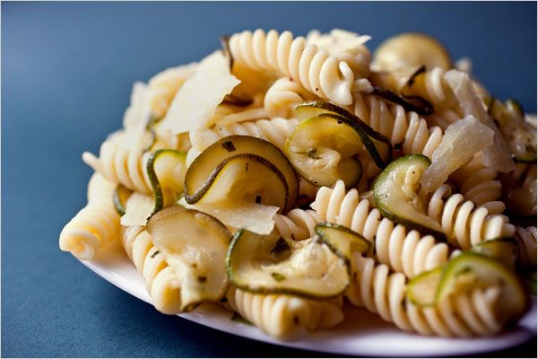 Recipes for Health - Pasta With Zucchini and Mint - NYTimes.com