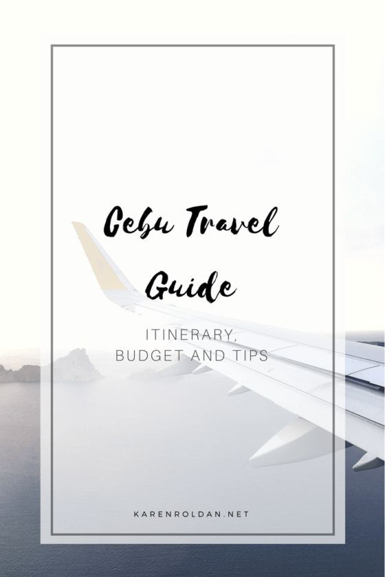 Travel Guide To Cebu: Itinerary Budget And Tips (scheduled via http://www.tailwindapp.com?utm_source=pinterest&utm_medium=twpin&utm_content=post153313289&utm_campaign=scheduler_attribution)