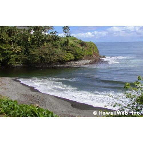 Honolii Beach; Near Hilo Hawaii