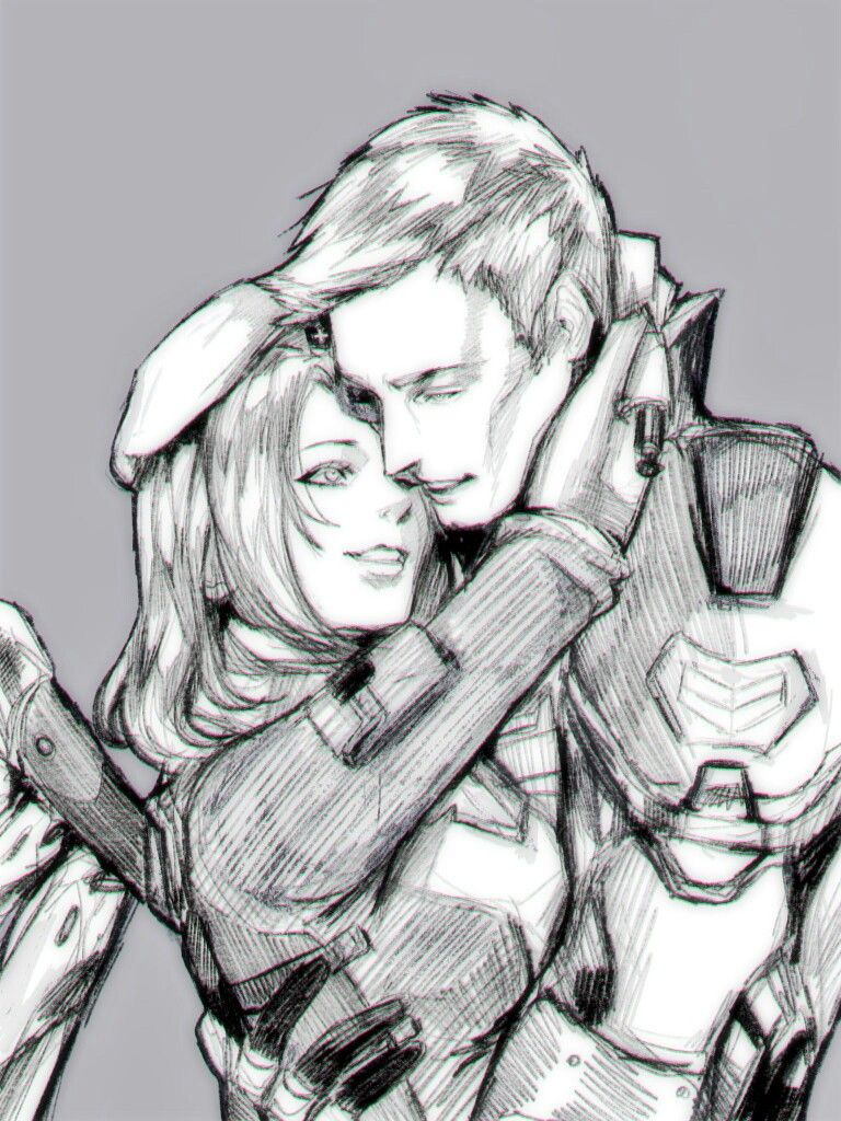 671ad066ed6fe Overwatch soldier 76  Jack and Mercy  Angela