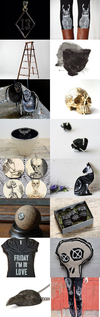 Friday The 13th! by Icleora on Etsy--Pinned with TreasuryPin.com