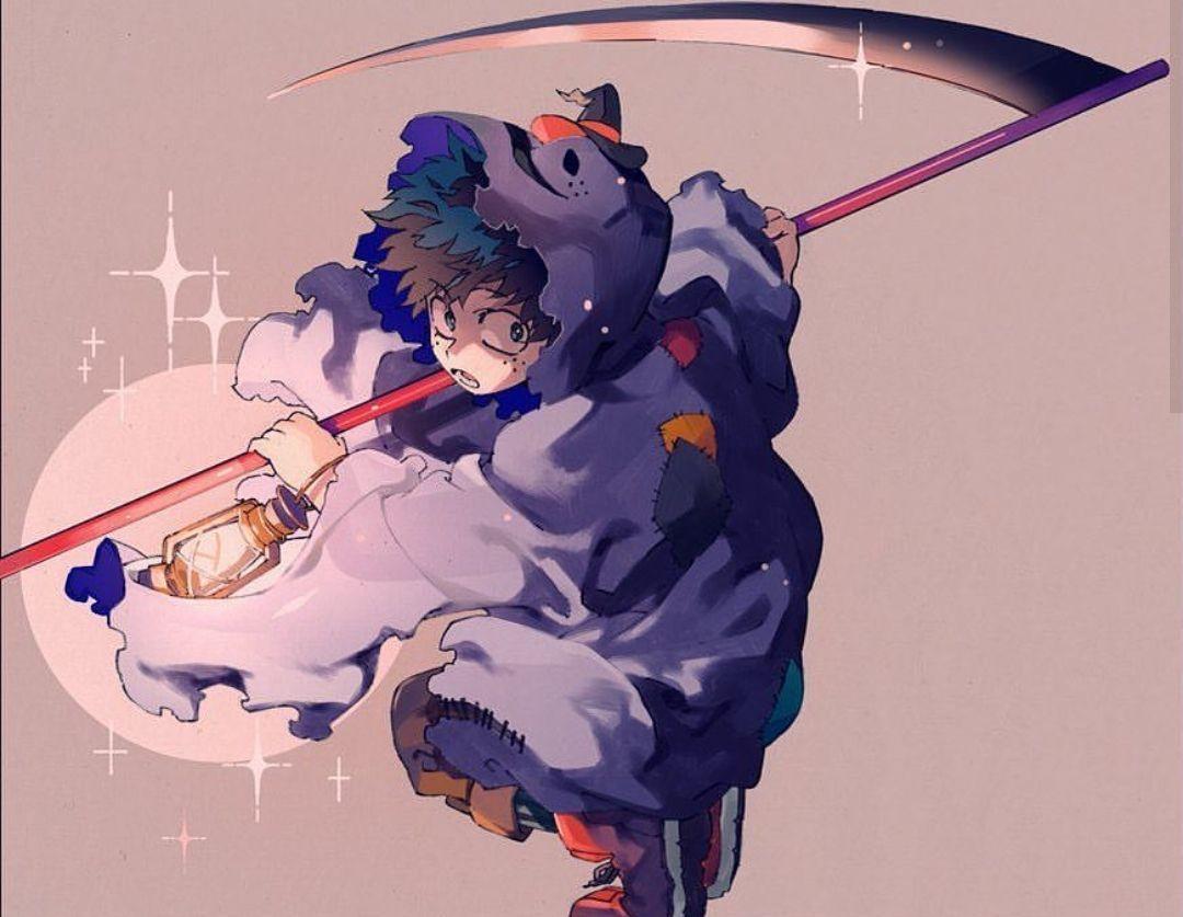 Characters Midoriya Izuku Katsuki Bakugou Todoroki Shouto Halloween Hero My Hero Academia Episodes My Hero