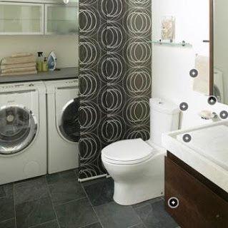 Oltre 25 fantastiche idee su lavanderia bagno combo su - Tinteggiare il bagno ...
