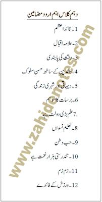 Important Urdu Essays For Class 10 2020 In 2020 Essay Essay