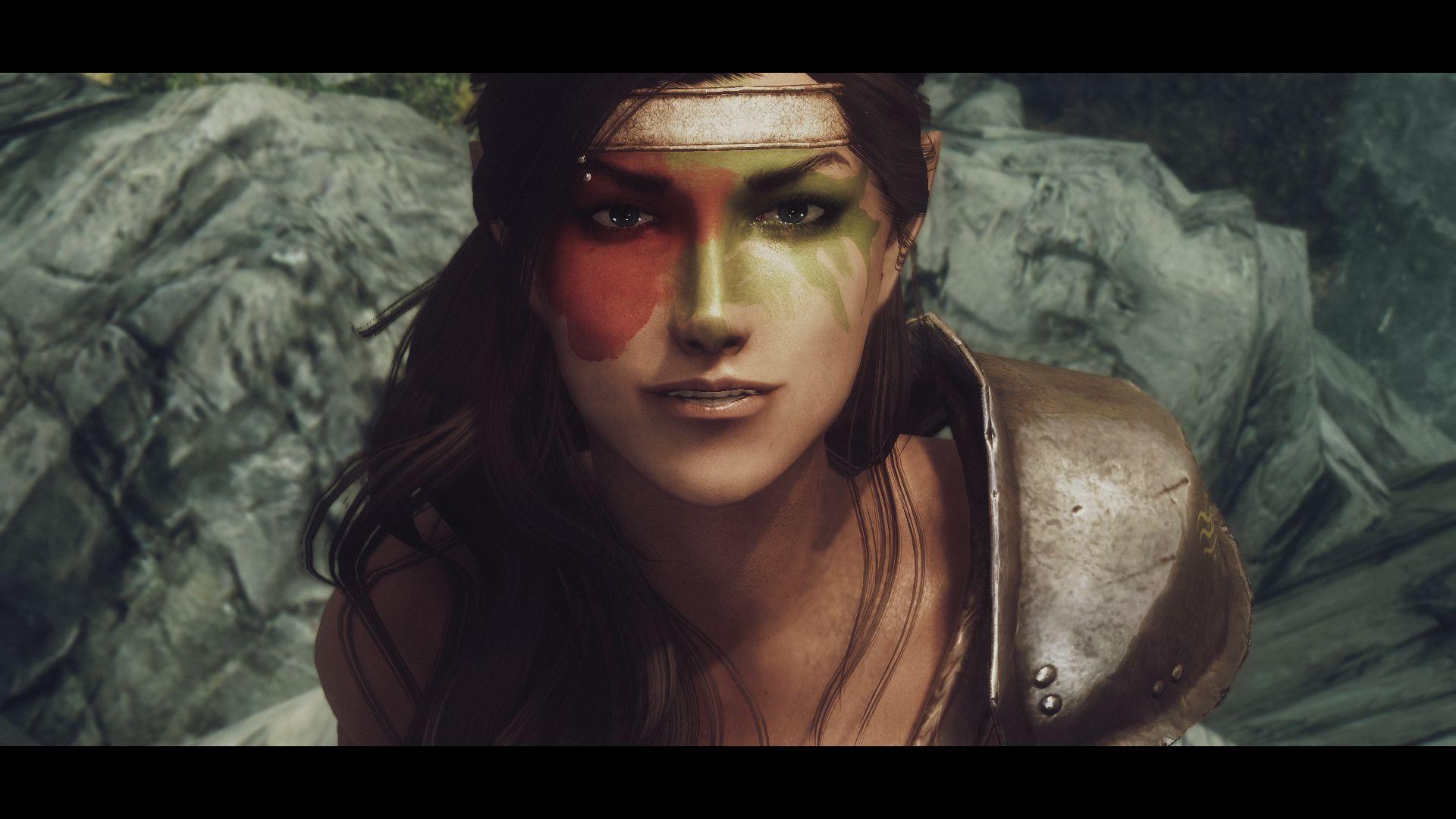 half-elf   Face of a Half-Elf   Elves   Skyrim mods, Best