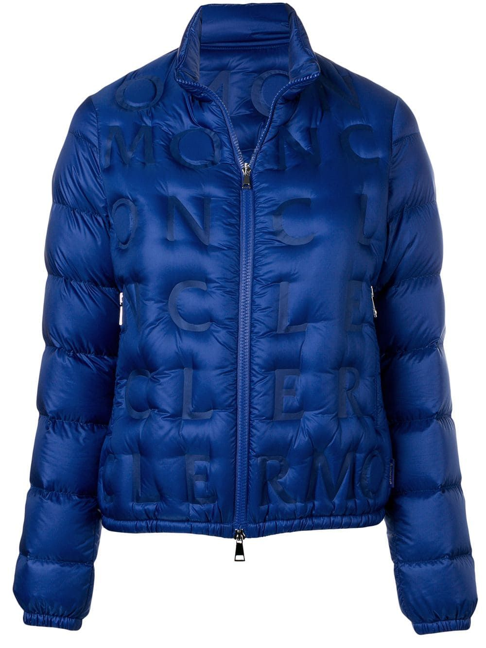 f084da766 Moncler embossed logo padded jacket - Blue in 2019 | Products ...