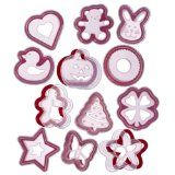 Cookie cutter and stencil set