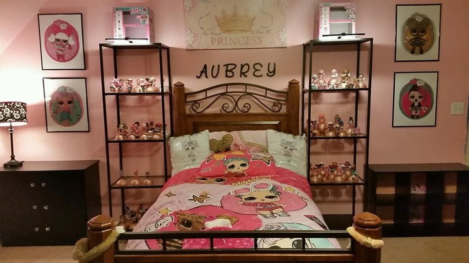 LOL Surprise Dolls Bedroom for little girls Girl bedroom