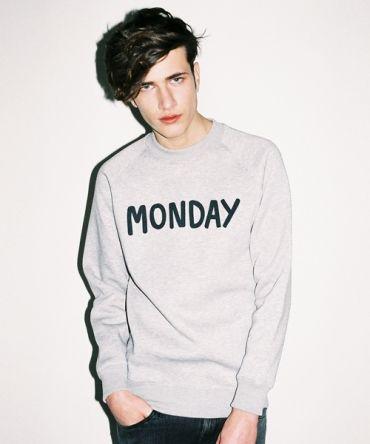 Lazy Oaf Monday Sweatshirt