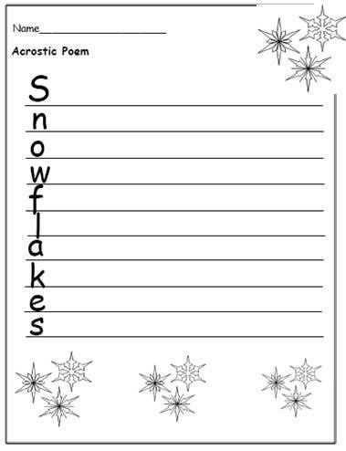 Free Printable Christmas Writing Templates to Encourage ...