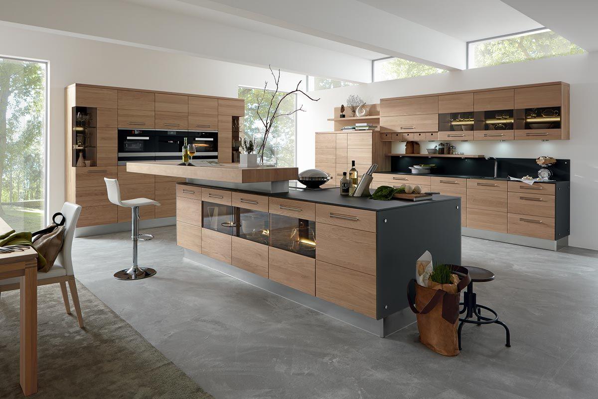 6 Einrichtungsideen und Küchenbilder für moderne Holz-Küchen | Küche ...