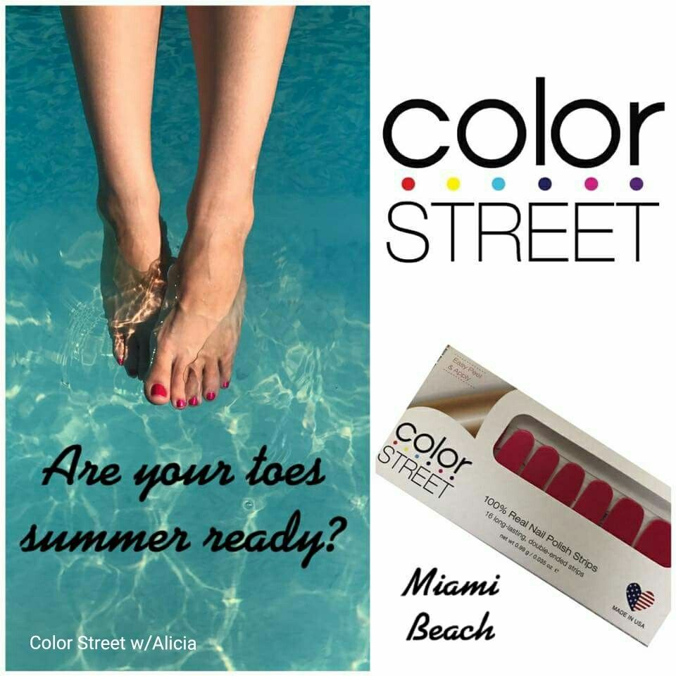 Get your toes beach and pool ready with Color Street nail ...