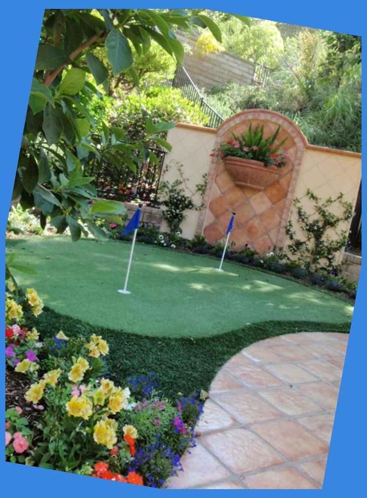 Family-Friendly Outdoor Spaces | Home Putting Green | Diy ...