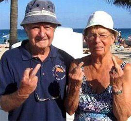 Grumpy Couple