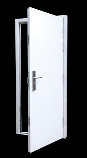 12 Point Locking High Security Steel Door Set Heavy Duty Steel Doors Safe Room Doors Steel Security Doors