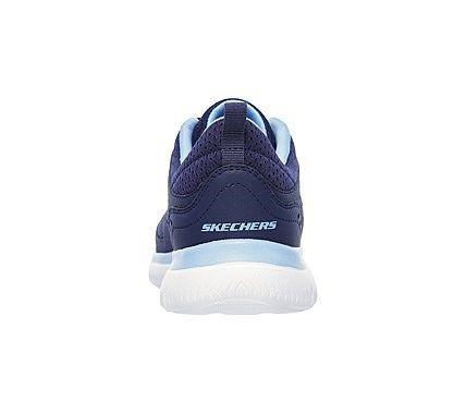 Skechers Men's Afterburn Memory Foam Lace up Sneaker
