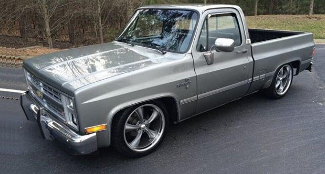 e542150d76562 1987 Chevrolet C10 350 V8 Engine Boss 20 Inch Wheels