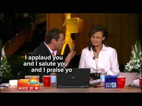 Check out Karl's reaction to news the future of the Logies may be in doubt!