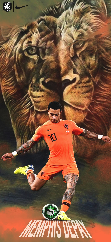 Memphisdepay 10 Nike Puma Netherlands Fifa Football Ronaldo