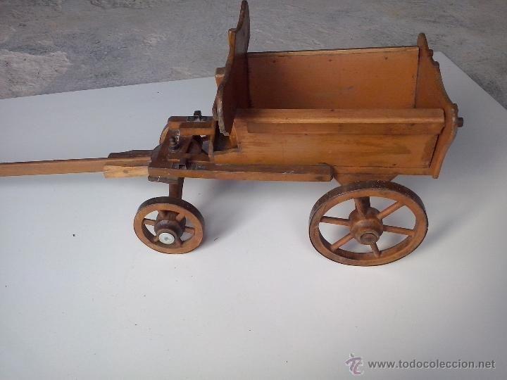 Antiguo Carro De Juguete Anos 20 Antique Vintage Old Toys