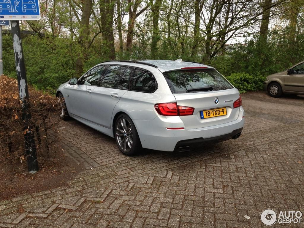 First M550d xDrive Touring models spotted in public 2010