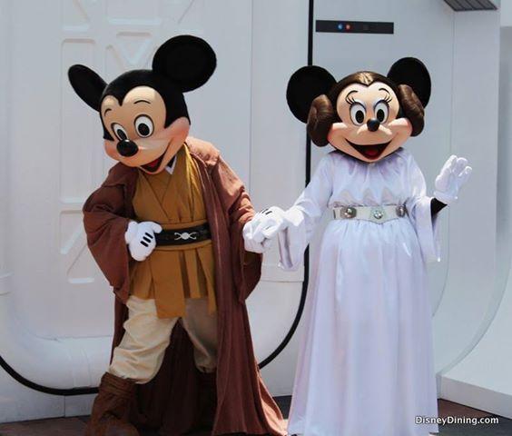 Star Wars Mickey & Minnie  <3