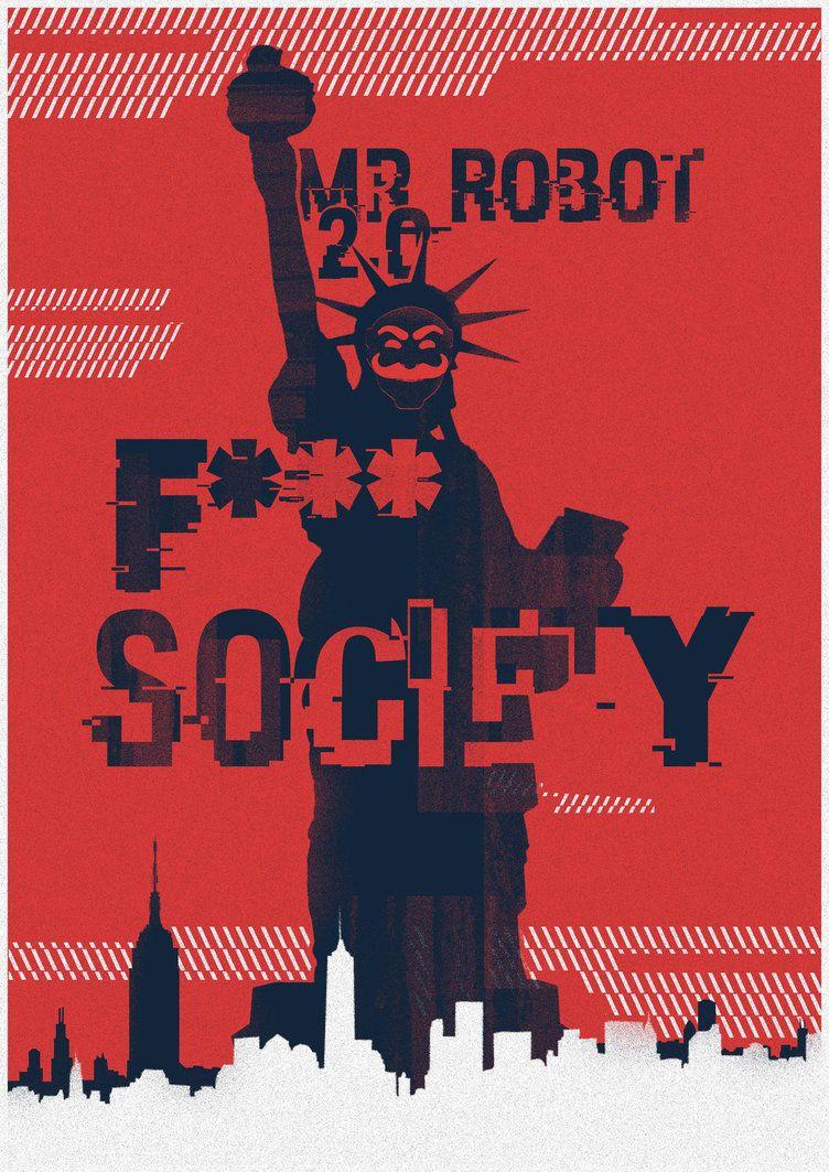 Mr_Robot by shrimpy99 on DeviantArt