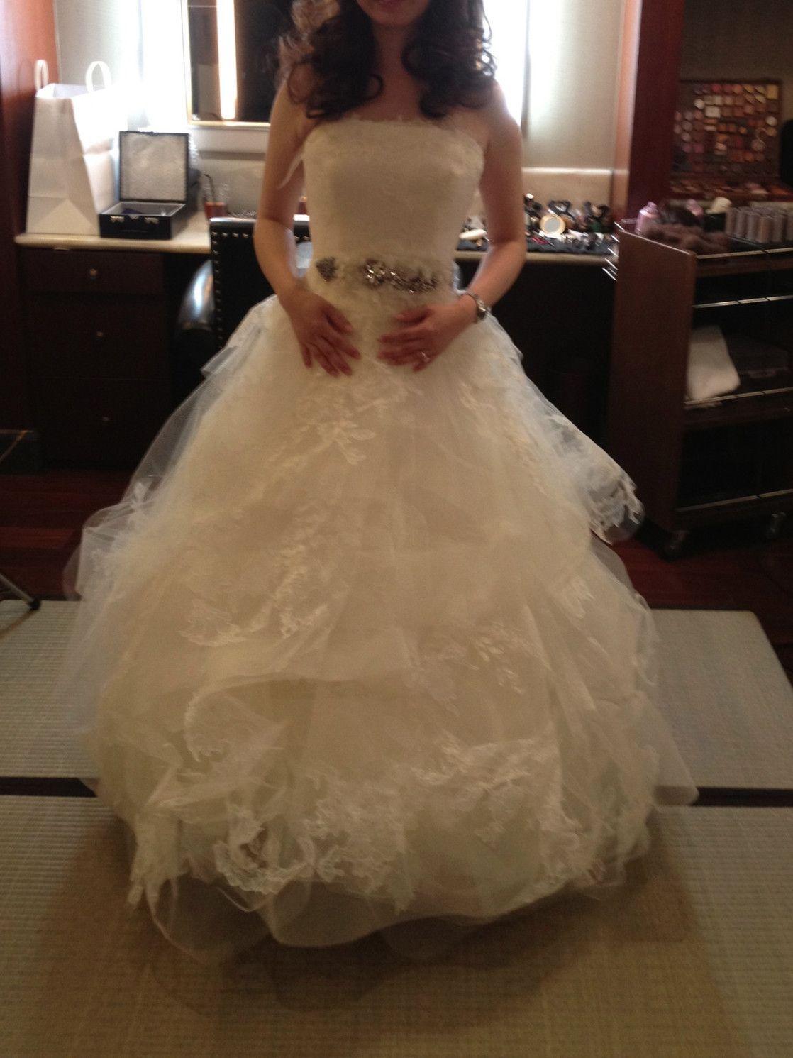 Wedding dresses used  Vera Wang